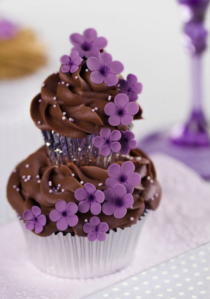 A Cupcake on a cupcake | Violet Couture Cupcakes