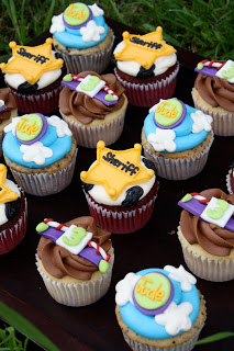 Cute Toy Story Cupcakes
