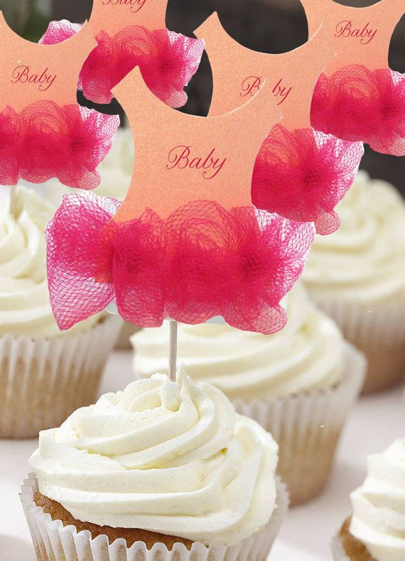 Baby Shower Invitation Cupcakes