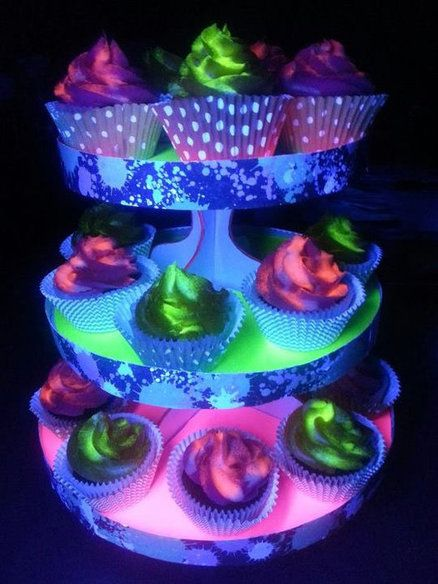 Dance Party Cupcakes