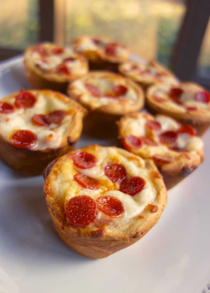Pizza Party Cupcakes