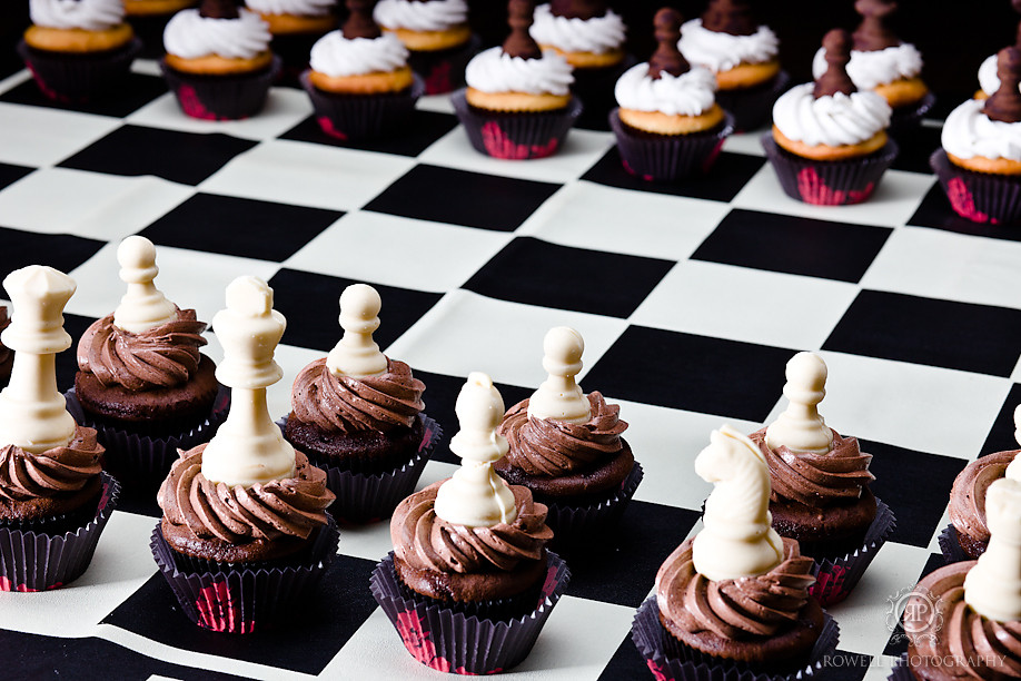 Chess Game Cupcakes