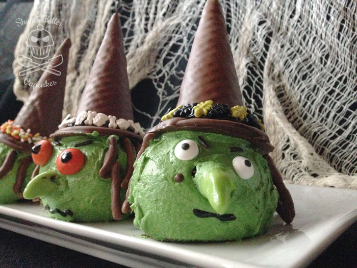 Evil Witch Cupcakes