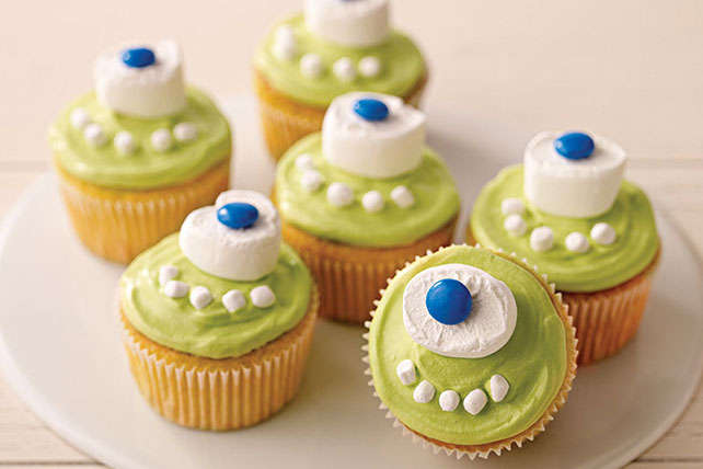 One Eyed Monster Cupcakes
