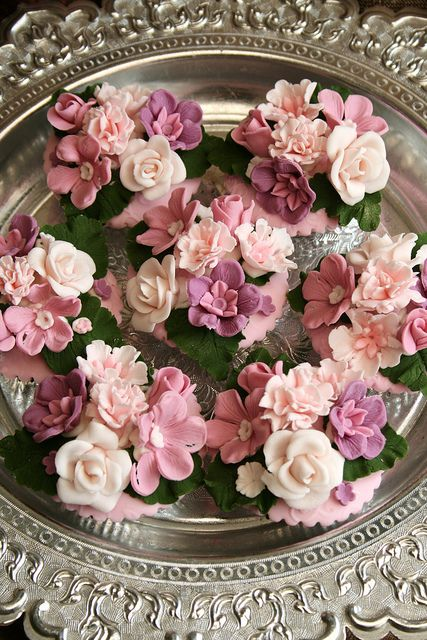 Stunning Floral Cupcakes
