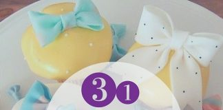 31 Fashionable Bow Cupcakes
