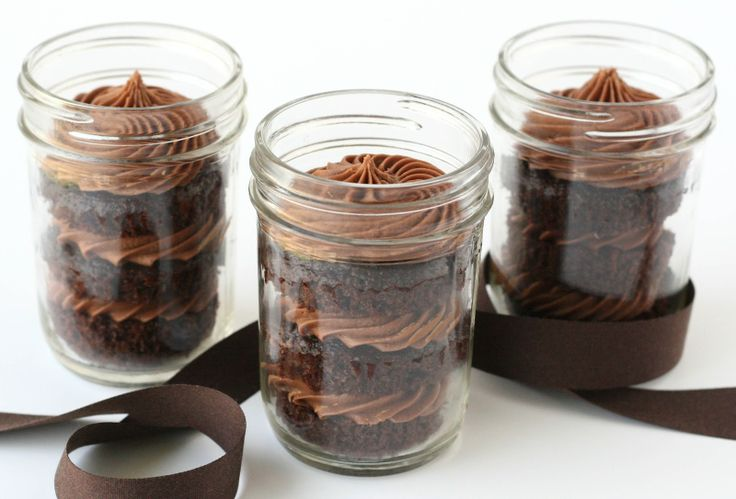 Chocolate Cupcakes Gift in Jar