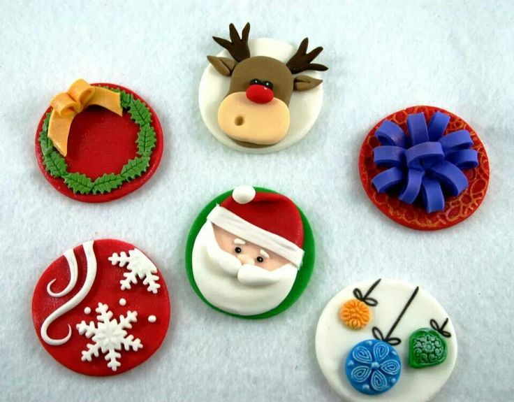 Christmas Special Cupcake Toppers