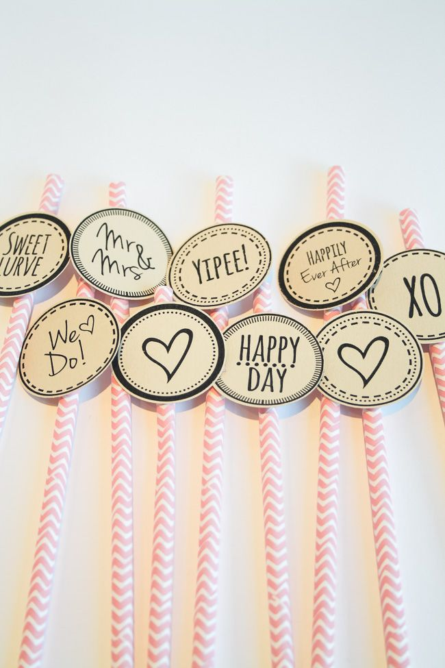 Cute Cupcake Topper for a Happy Day