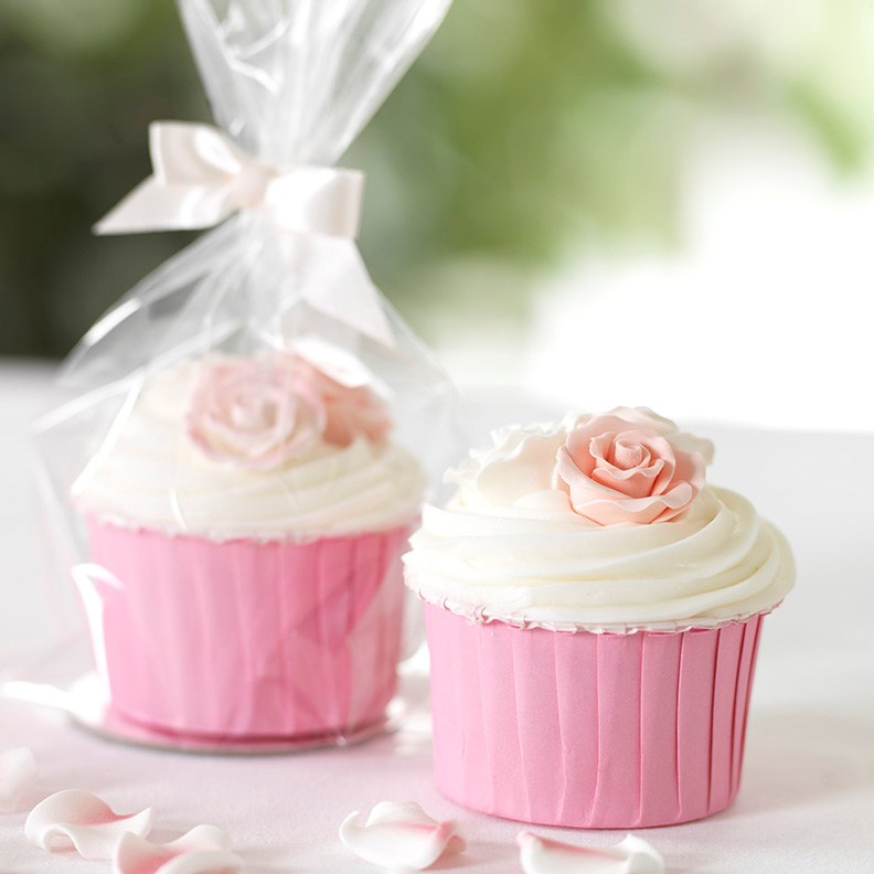 Cute Pink Gift Cupcakes