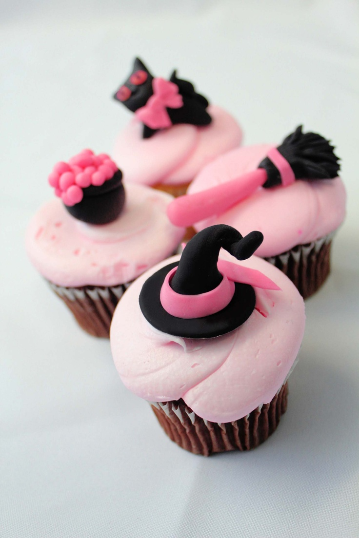 Cute and Scary Cupcake Toppers