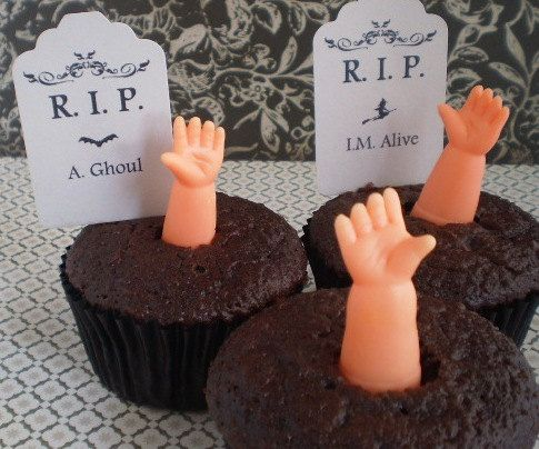 Doll Hands Cupcake Toppers