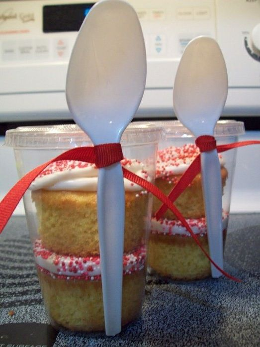 Gift Cupcakes in Cup