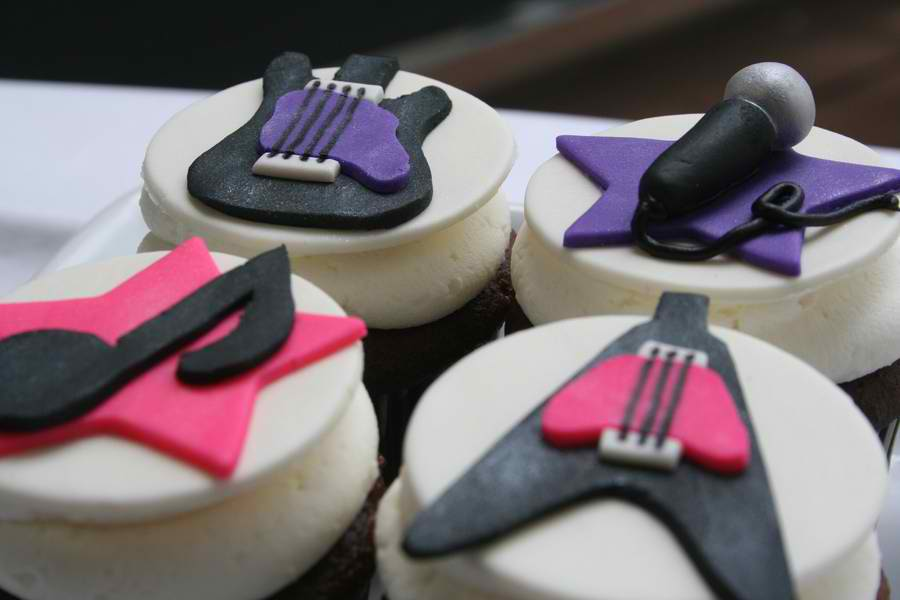 Give Me Some Music Cupcakes