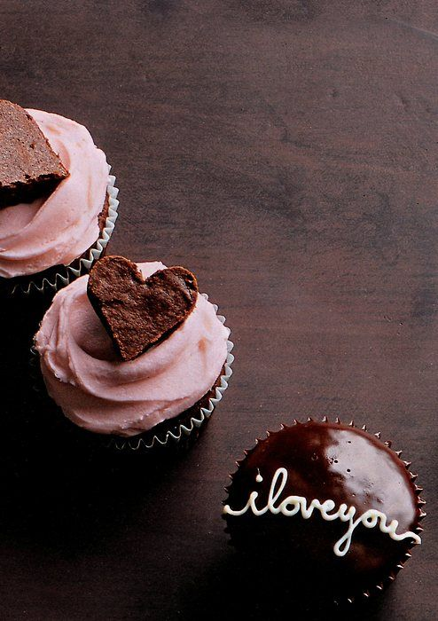 Heart With Love Cupcakes