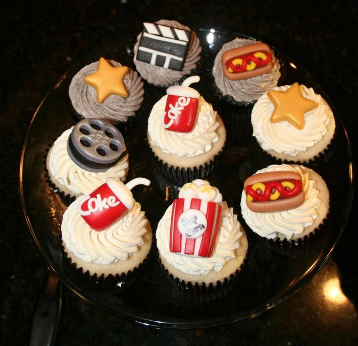 Movie Cupcakes For You