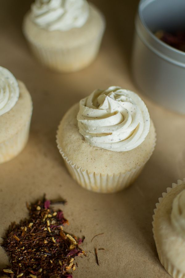 Simple White Chocolate Chai Spice Cupcakes