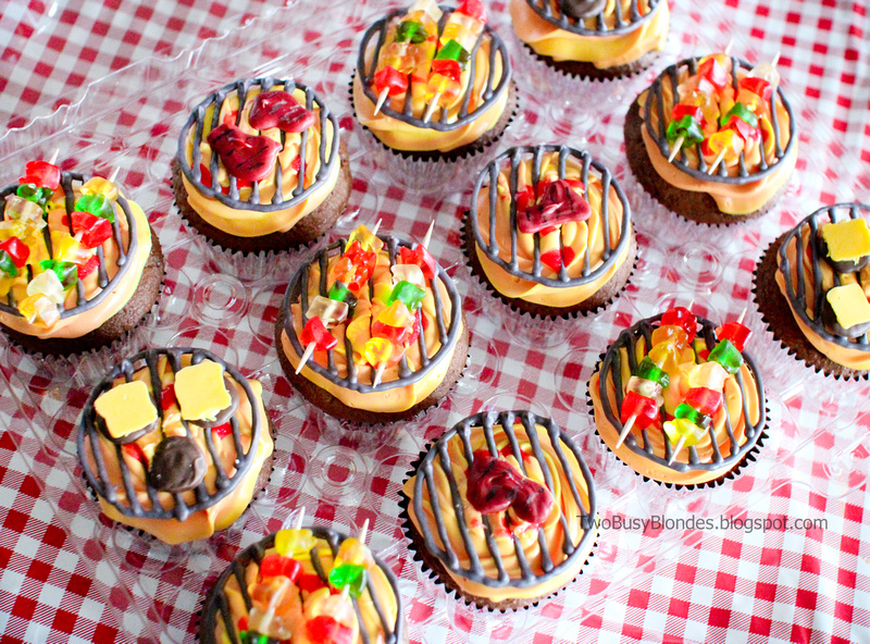 Barbecue Grilled Cupcakes