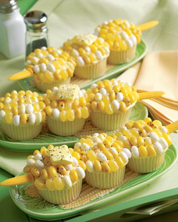Buttered Corn Cupcakes