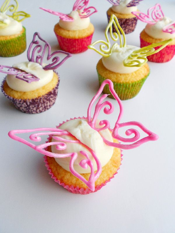 Lovely Butterfly Cupcakes