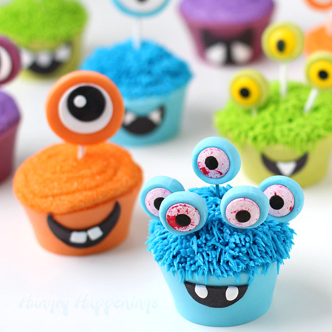 Enthralling Monsters Cupcakes