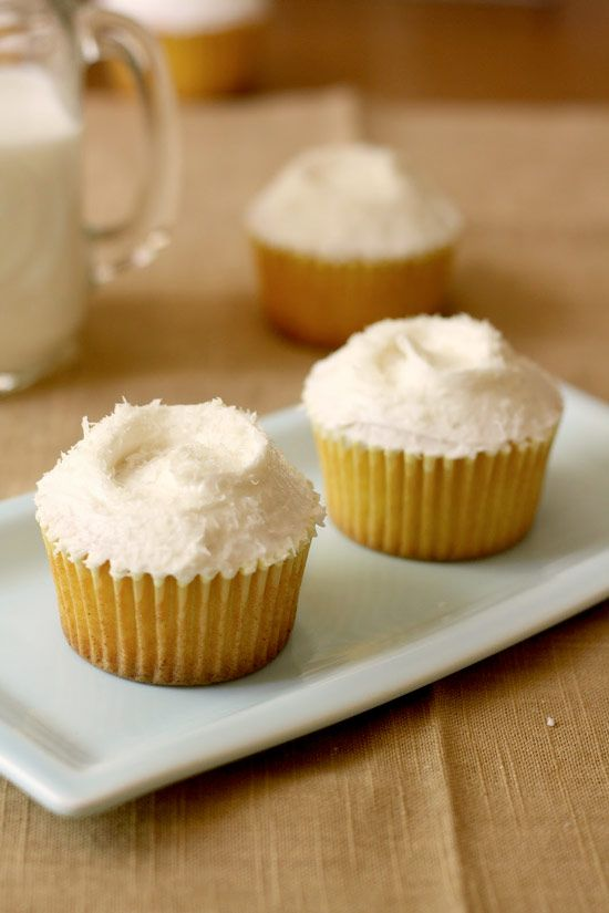 Coconut and Pineapple Cupcakes