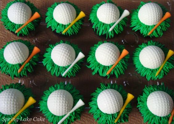 Awesome Golf Cupckes