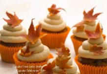 Delicate Fall Cupcakes