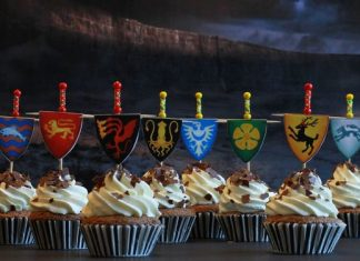 Black Forest Game of Thrones Cupcakes