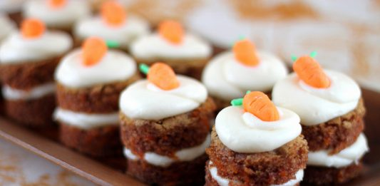 Stuffed Carrot Cupcakes