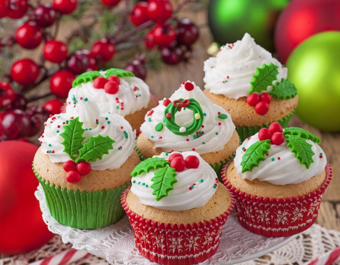 Lovely Christmas Cupcakes