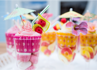 Lovely Cocktail Cupcakes
