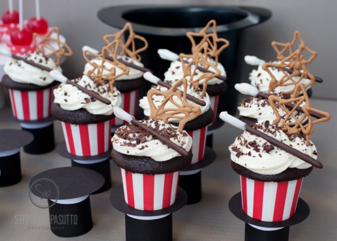 Magician Inspired Cupcakes